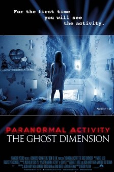 Poster Paranormal Activity The Ghost Dimension 2015