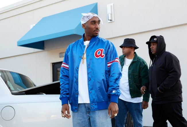 Demetrius Shipp Jr. stars in ALL EYEZ ON MEPhoto: Quantrell Colbert
