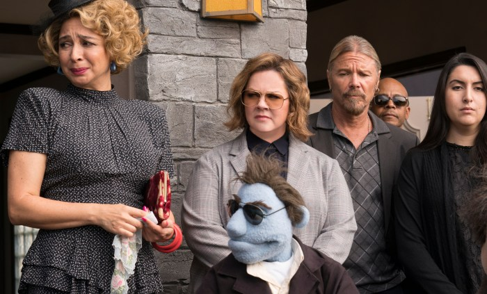 Maya Rudolph and Melissa McCarthy star in The Happytime Murders