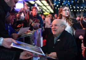 "LONDON, ENGLAND - MARCH 21: Danny DeVito attends the European Premiere of Disney's ""Dumbo"" at The Curzon Mayfair on March 21, 2019 in London, England. (Photo by Gareth Cattermole/Getty Images for Disney)"