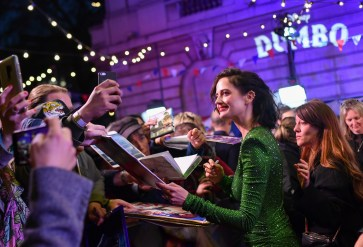 "LONDON, ENGLAND - MARCH 21: Eva Green attends the European Premiere of Disney's ""Dumbo"" at The Curzon Mayfair on March 21, 2019 in London, England. (Photo by Gareth Cattermole/Getty Images for Disney)"