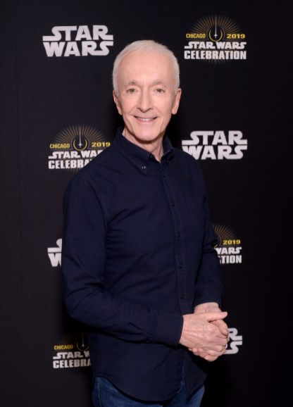 """CHICAGO, IL - APRIL 12: Anthony Daniels (C-3PO) attends """"The Rise of Skywalker"""" panel at the Star Wars Celebration at McCormick Place Convention Center on April 12, 2019 in Chicago, Illinois. (Photo by Daniel Boczarski/Getty Images for Disney ) *** Local Caption *** Anthony Daniels"""
