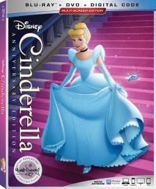 Cinderella - Blu-ray Cover
