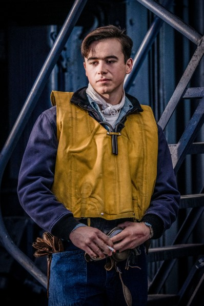 Keean Johnson stars as 'James Murray' in MIDWAY.