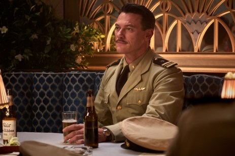 Luke Evans stars as 'Lt. Commander Wade McClusky' in MIDWAY.