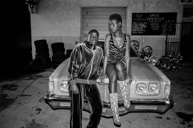 (from left) Slim (Daniel Kaluuya) and Queen (Jodie Turner-Smith) in Queen & Slim, directed by Melina Matsoukas.