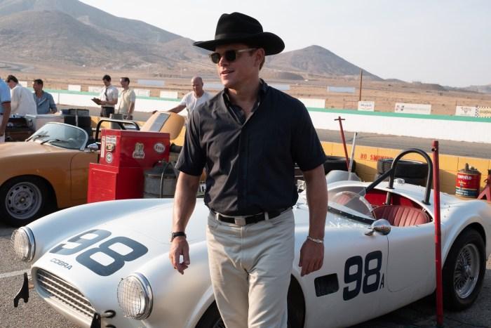Matt Damon in Twentieth Century Fox's FORD V. FERRARI.