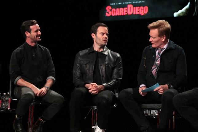 James Ransone, Bill Hader, Conan O'Brien