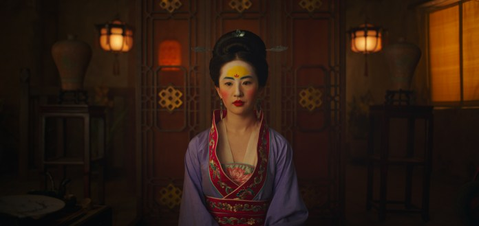 Disney's MULAN..Mulan (Yifei Liu)..Photo: Film Frame..© 2019 Disney Enterprises, Inc. All Rights Reserved.