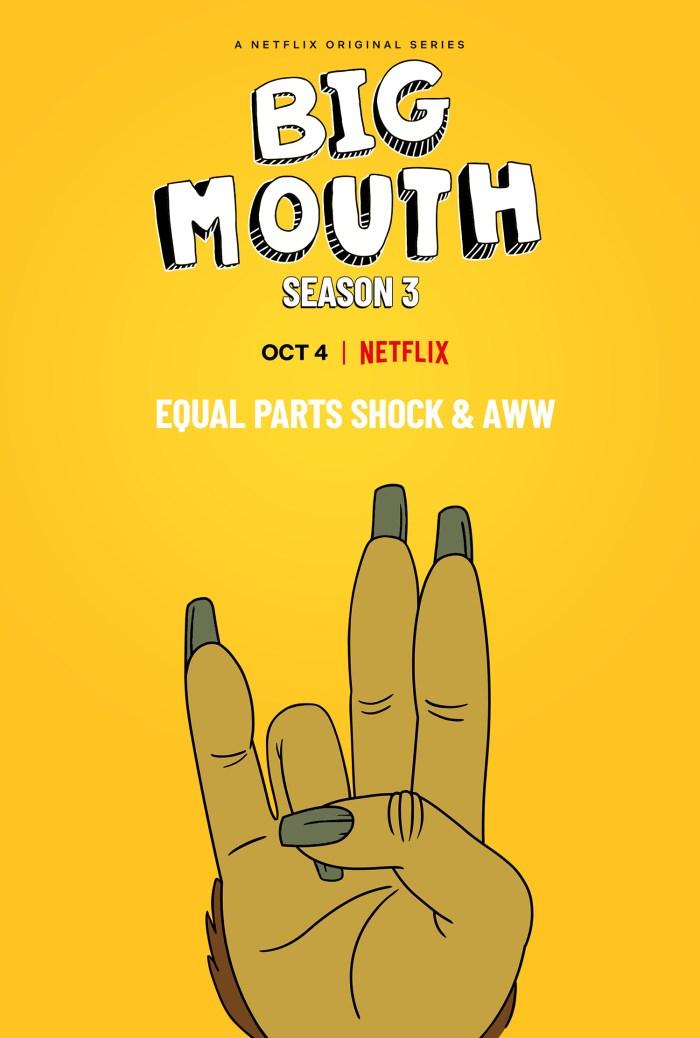 Big Mouth Season 3 (2019) Poster