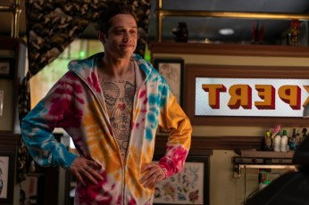 Pete Davidson as Scott Carlin in The King of Staten Island, directed by Judd Apatow.