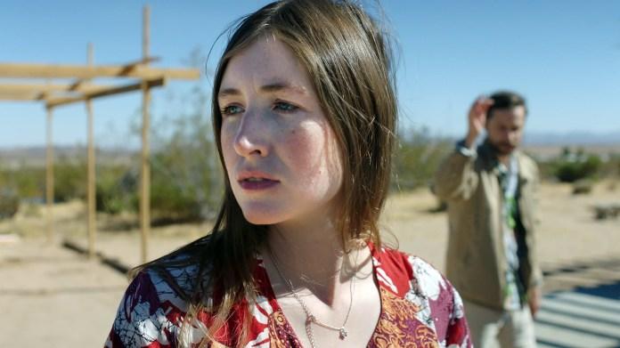 Kate Sheil; Kentucker Audley in She Dies Tomorrow by Amy Seimetz