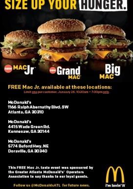 Big Mac Event Locations--Social Media (3)