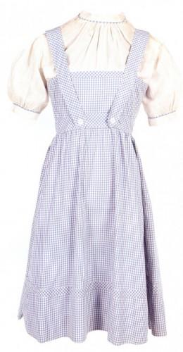Judy Garland's movie-worn Dorothy dress