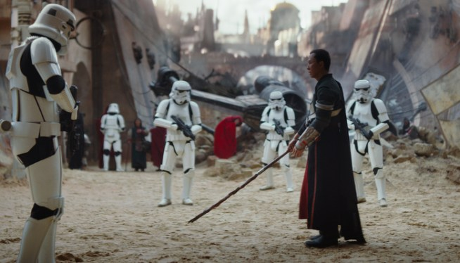 Rogue One: A Star Wars Story(Donnie Yen)Ph: Film Frame©Lucasfilm LFL