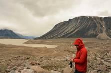 Rocks everywhere- Glacier Lake.