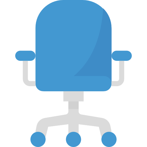 Icon of an office chair.