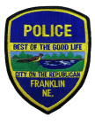 Franklin-Nebraska-Police-Shoulder-Patch-Ne