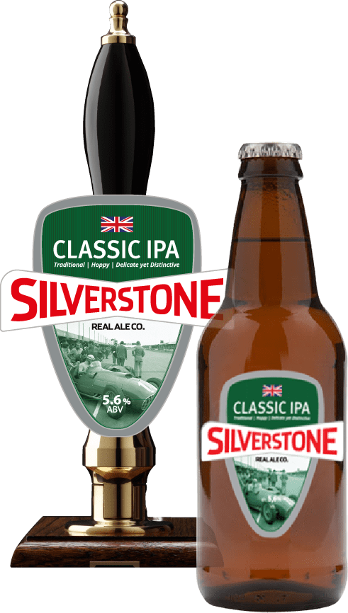 Silverstone Beer Bottles Classic IPA