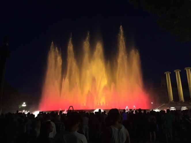 Magic fountains