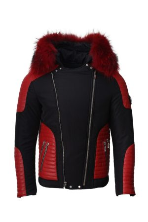 Puffer Men's Modern Cool and Stylish Jacket with Fur