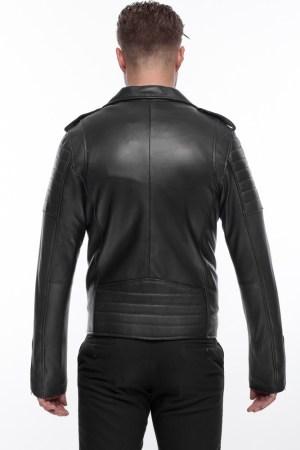 Perfecto Men Black Leather Jacket