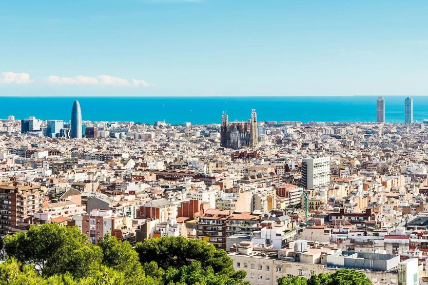 European city break destination Barcelona