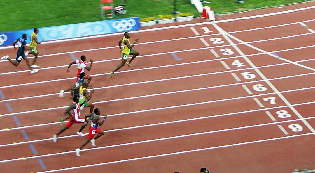olympics 100m final