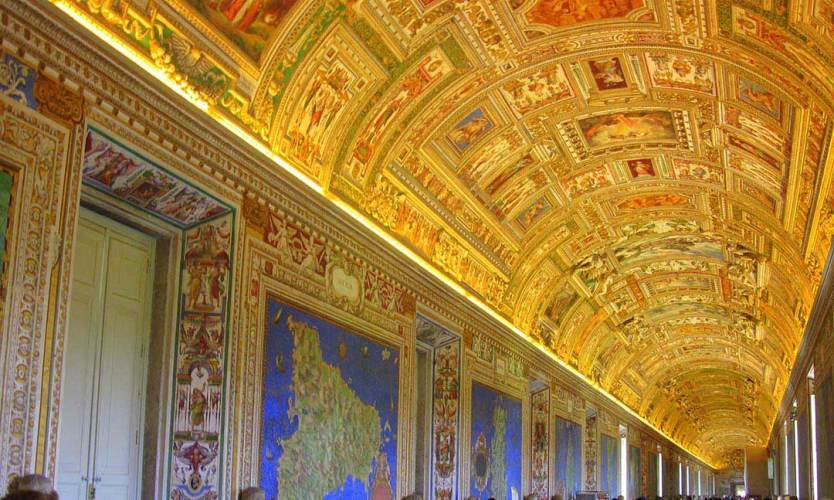 The Vatican Museums in Rome
