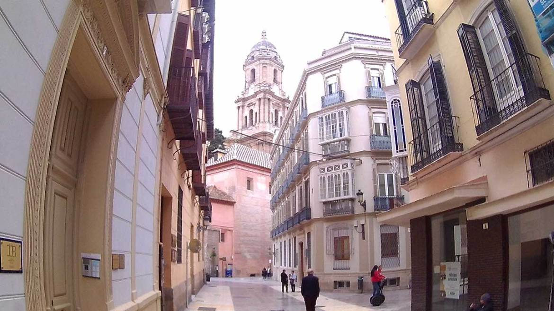 Malaga street view