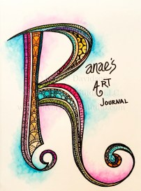 Ranae's Art Journal Page