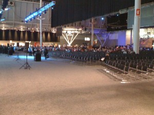 View from the front @EMCWorld 2010