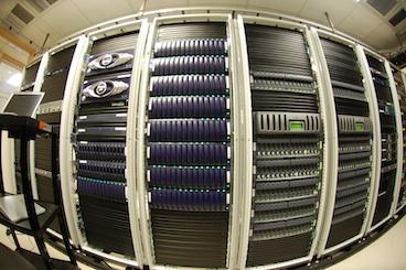 wall o' storage (fisheye) by ChrisDag (cc) (From Flickr)