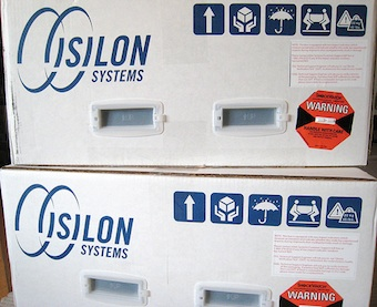 [InfiniBand interconnected] Isilon Packaging by ChrisDag (cc) (from Flickr)