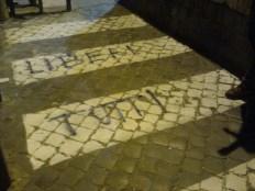 roma, ponte del pigneto, liberi tutti