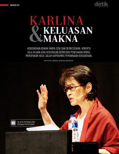 karlina supelli, pidato kebudayaan DKJ