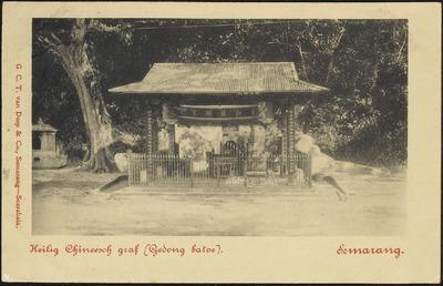 pemakaman tionghoa gedong batu 1890 - 1910 @kitlv