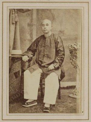 Oei Tjie Sien, ayah Oei Tiong Ham, 1890. (Dok. KITLV)