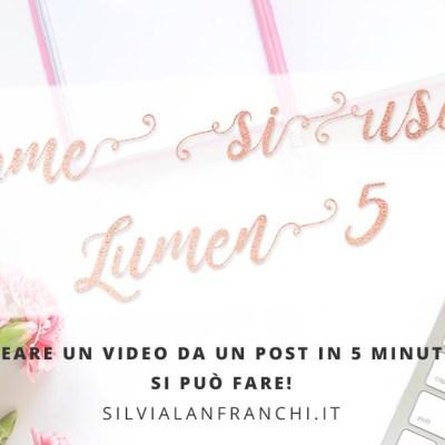 Creare un video da un post in 5 minuti? Si può fare!