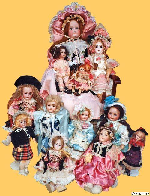 Muñecas-antiguas