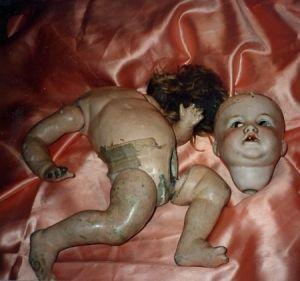 restauración muñeco