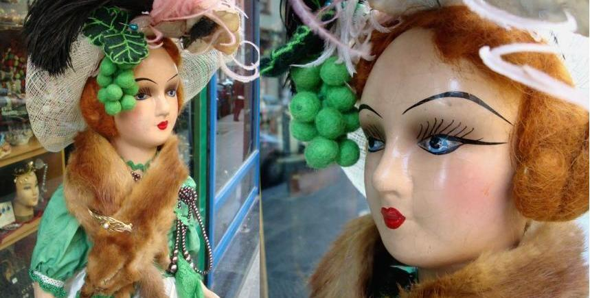 boudoir dolls - muñeca antigua