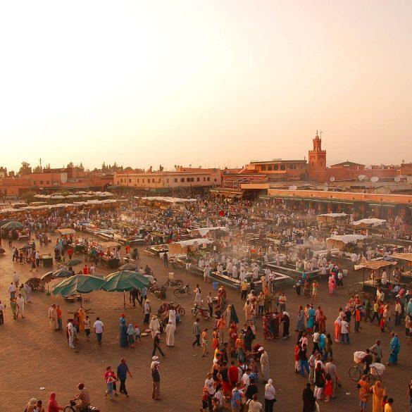 Due amiche e Marrakech