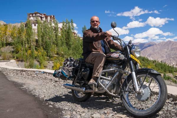 Enrico Guala, autore di Ladakh, tra terra, cielo e Gompas