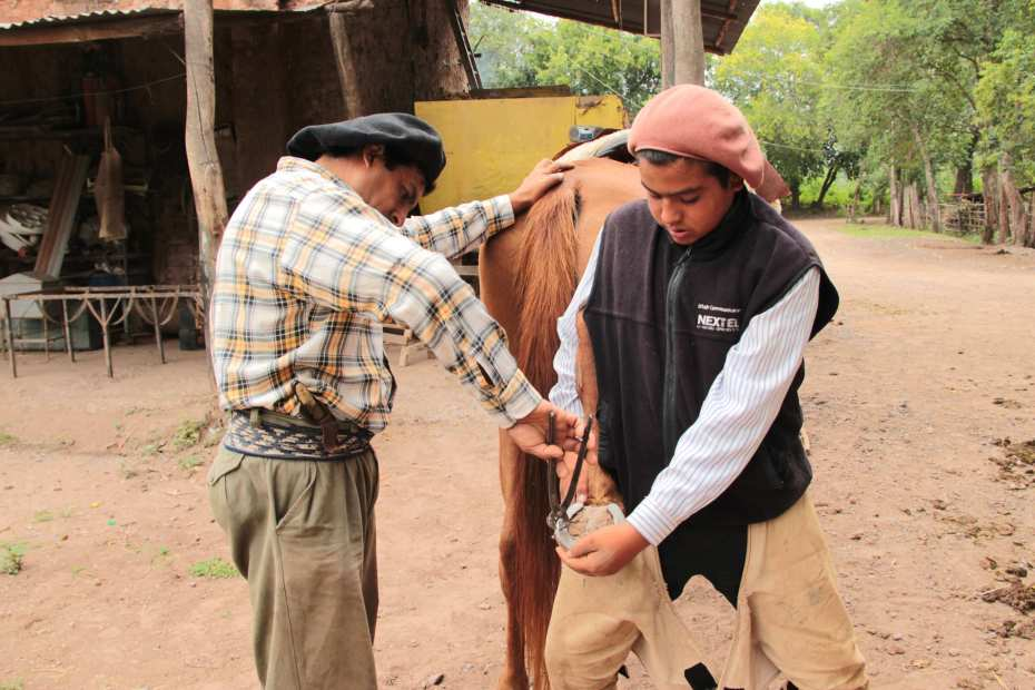 Riding with gauchos in northern Argentina