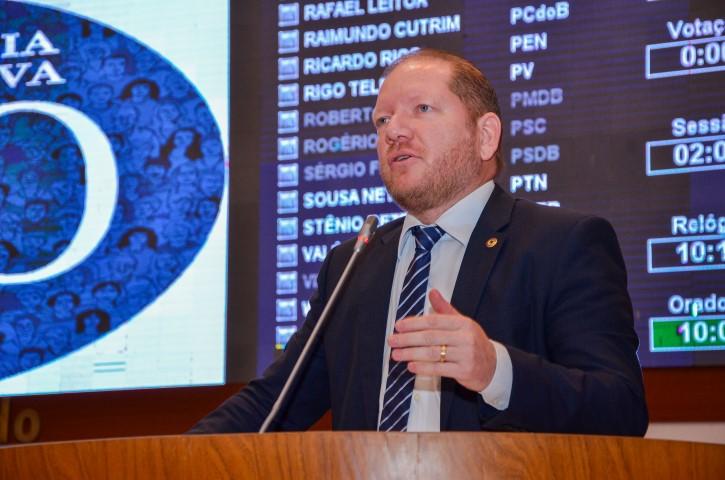 Foto-legenda - O deputado reiterou que o governo Flávio Dino está muito bem avaliado na maioria dos municípios e que a oposição deve saber disso