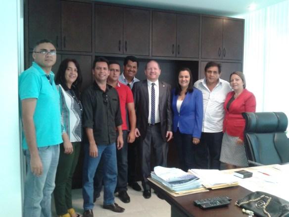 Lideranças políticas anunciaram apoio à pré-candidatura de Jesiel Araújo em Monção