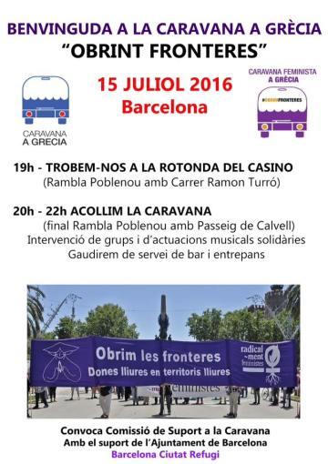 Caravana Obrint fronteres bcn