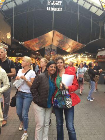 junto a la autora y conferenciante internacional kanta motwani de visita por barcelona días antes de su seminario transformando vidas