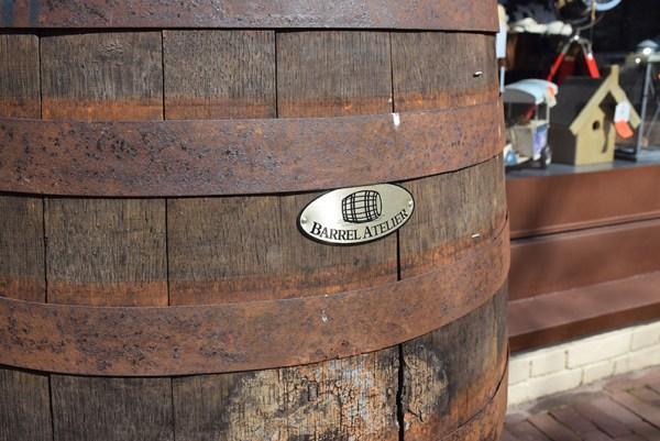 SW-130 regenton Barrel Atelier met kraan